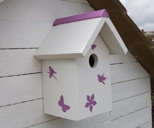 Simple Birdhouse, to Decorate