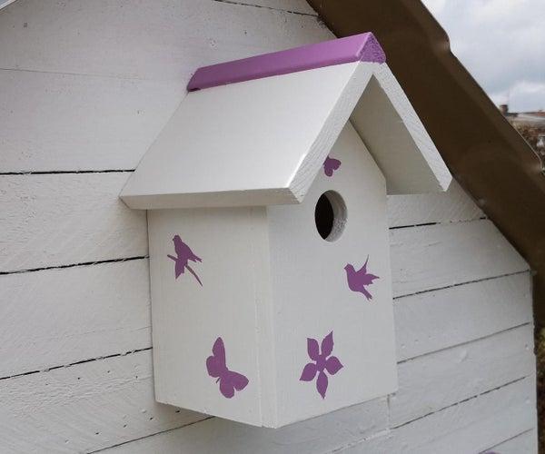简单的鸟舍,用来装饰