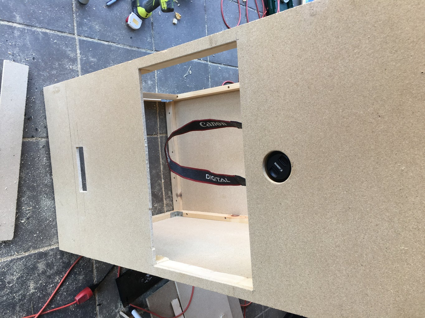Add Supports and Fasteners for the Electronics.