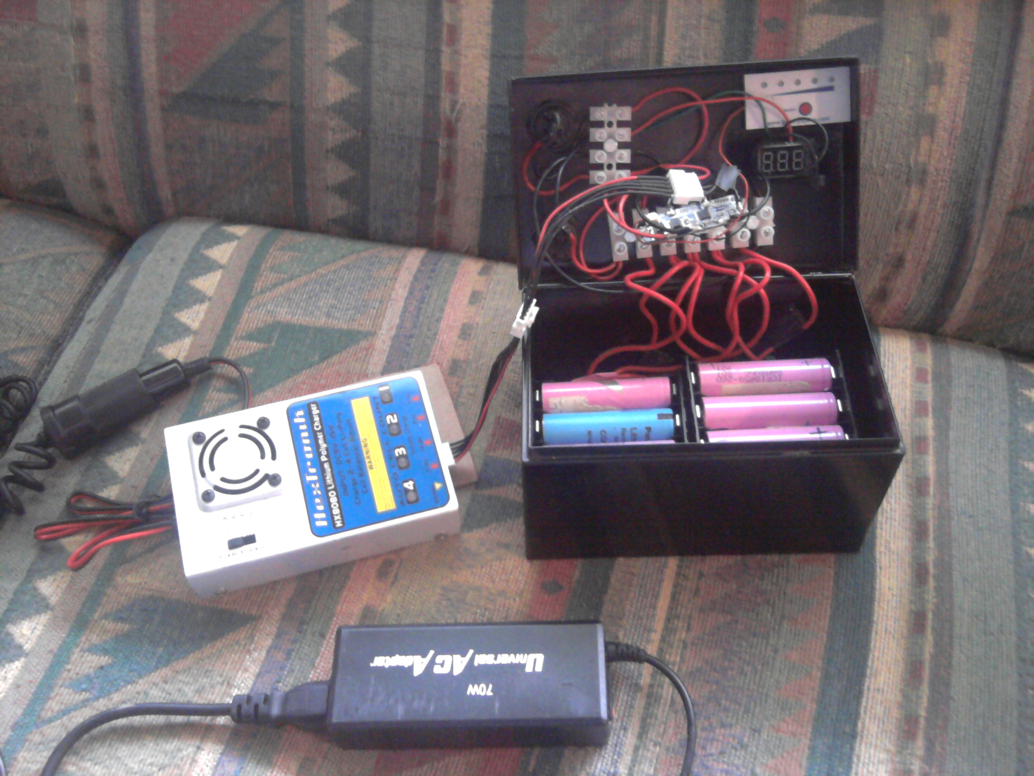 Make an inexpensive Lithium-Ion Battery Pack
