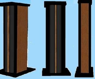 DIY Bookshelf Speakers Stand
