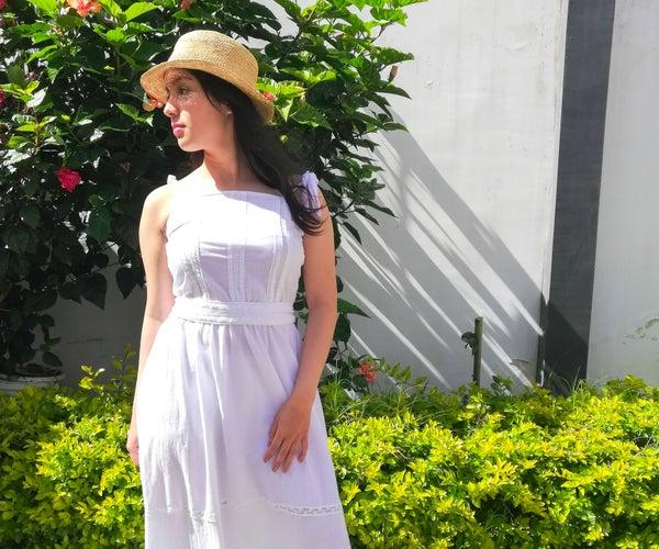 Homemade Boho Dress