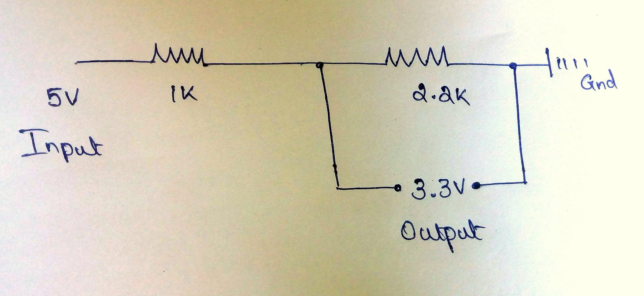 5v to 3.3v Converter