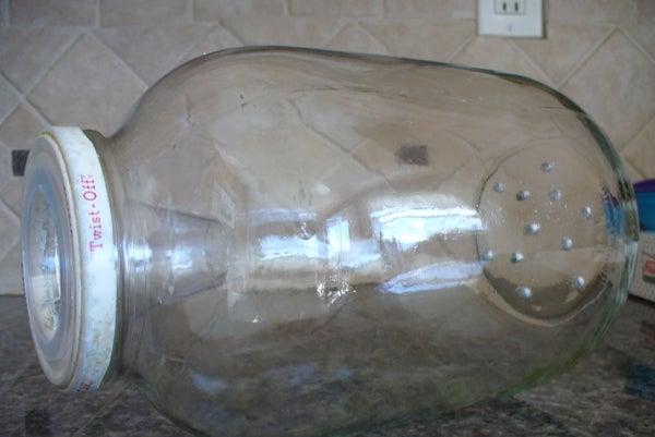 Pickle Jar Minnow Trap