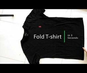 How to Fold a T-Shirt Like a Pro!