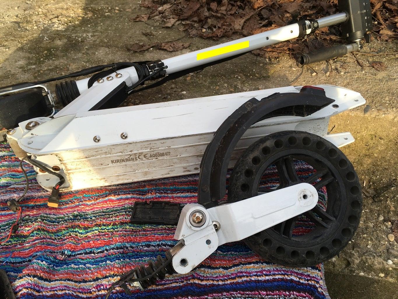 Build in the Motor Wheel