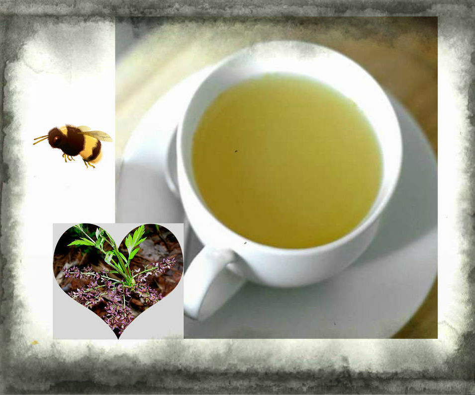 Herbal Remedy for sore mouth, upset stomach, etc.