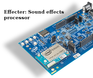 Effecter: a Simple Guitar Effects Processor