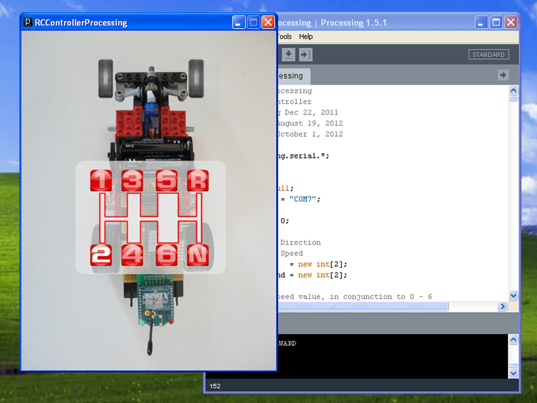 Processing UI & Arduino Sketch