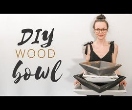 Wood Bowl (no Lathe, No Problem!)