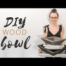 Wood Bowl (no Lathe, No Problem!)