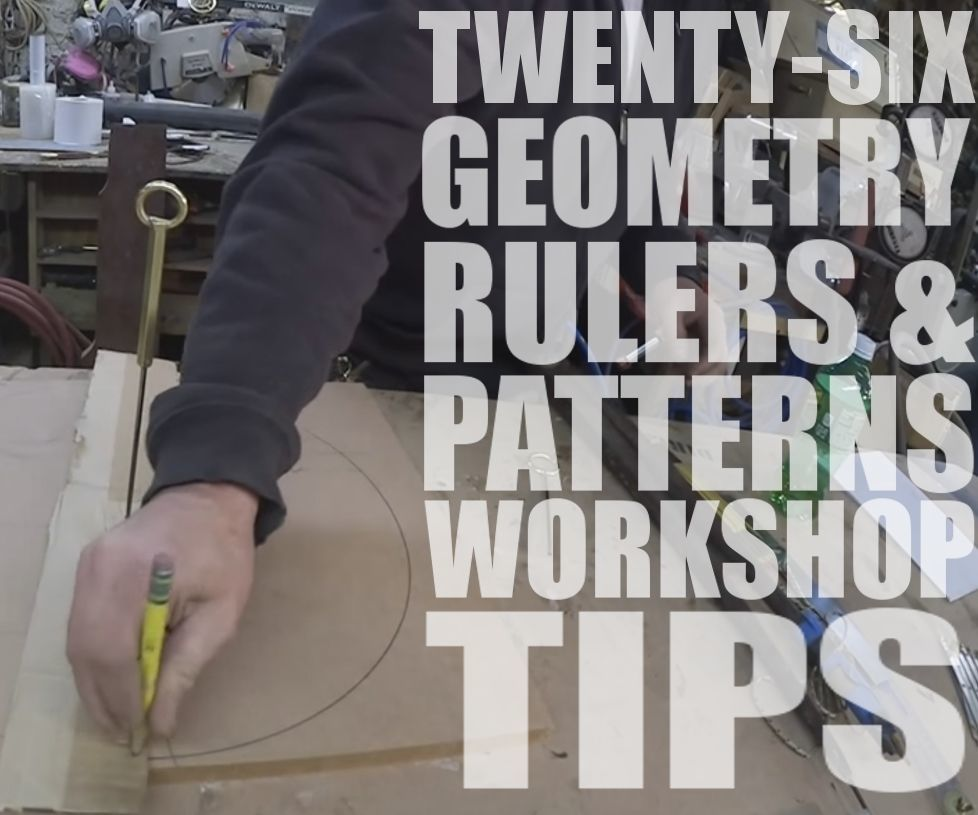 Jimmy DiResta Collaboration: 26 Geometry, Rulers & Patterns Workshop Tips