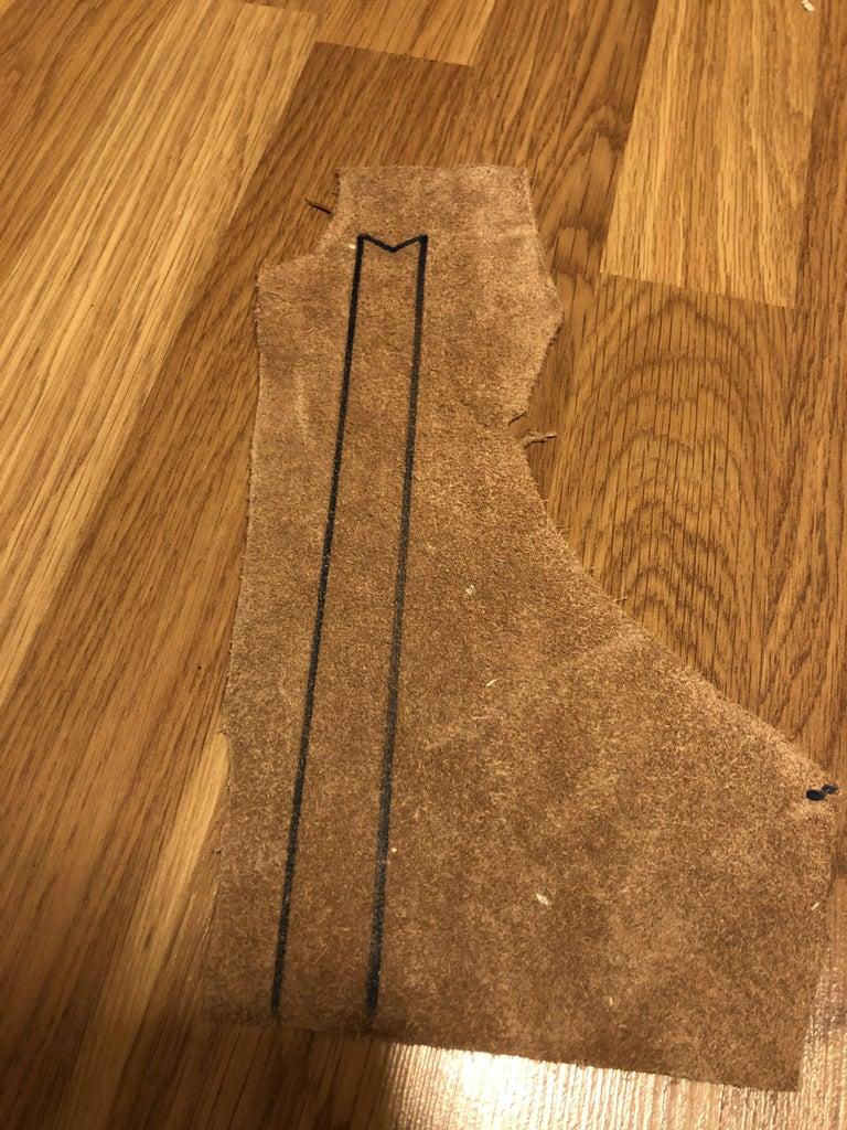 Make a Leather Bookmark!