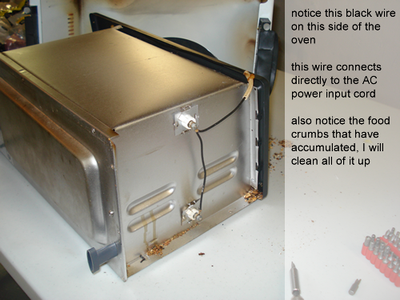 Toaster Oven Modification
