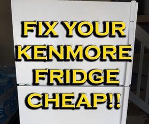 Fix Your Kenmore Fridge, Cheap!!