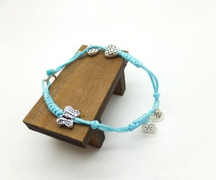 Valentine Crafts - Handcraft Sterling Silver Braided Bracelet & Anklet