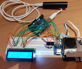 Simple Air Pollution Monitor Using an Arduino Uno and SDS011