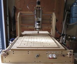 划伤构建的CNC路由器