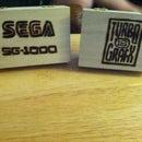 Sega SG-1000/ TurboGrafx-16 Card Holder Wood Burning
