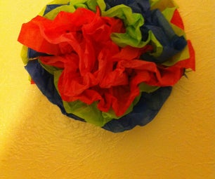 How to Make a Paper Flower Thing