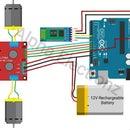 Wireless Bluetooth Bot Using Arduino and Bluetooth