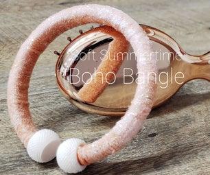 Soft, Summertime Boho Bangle
