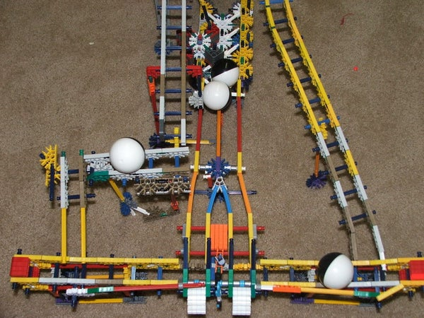 Knex Ball Machine Elements.