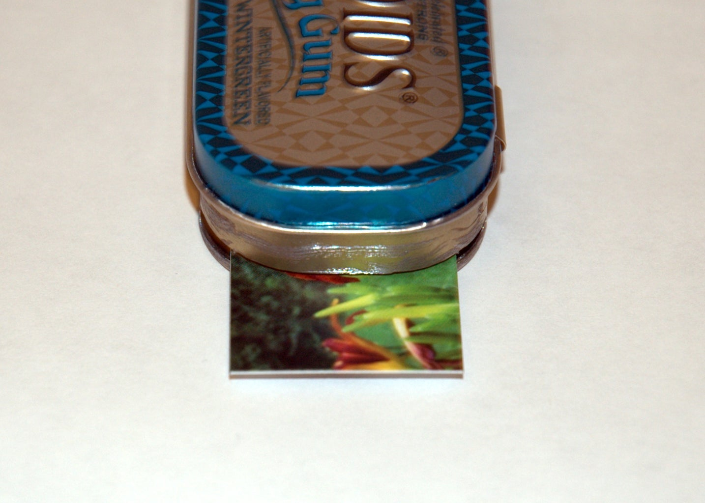 The Finished Tin, Ready to Dispense