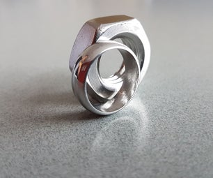 Make a Ring From a Nut Version 2 - Smooth Ring