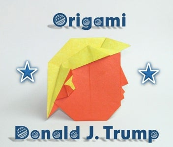 ORIGAMI DONALD J. TRUMP TUTORIAL (WITH VIDEO!)