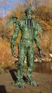 Cthulhu Costume - Latex Body Suit