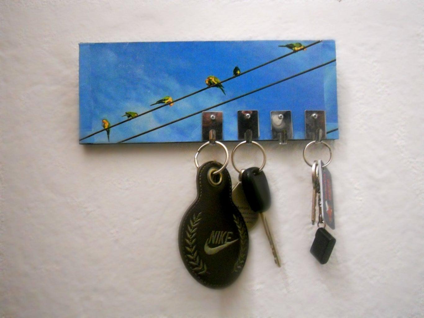 Make a Key Hanger