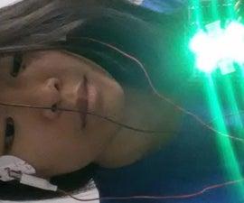 用眼睛控制灯光