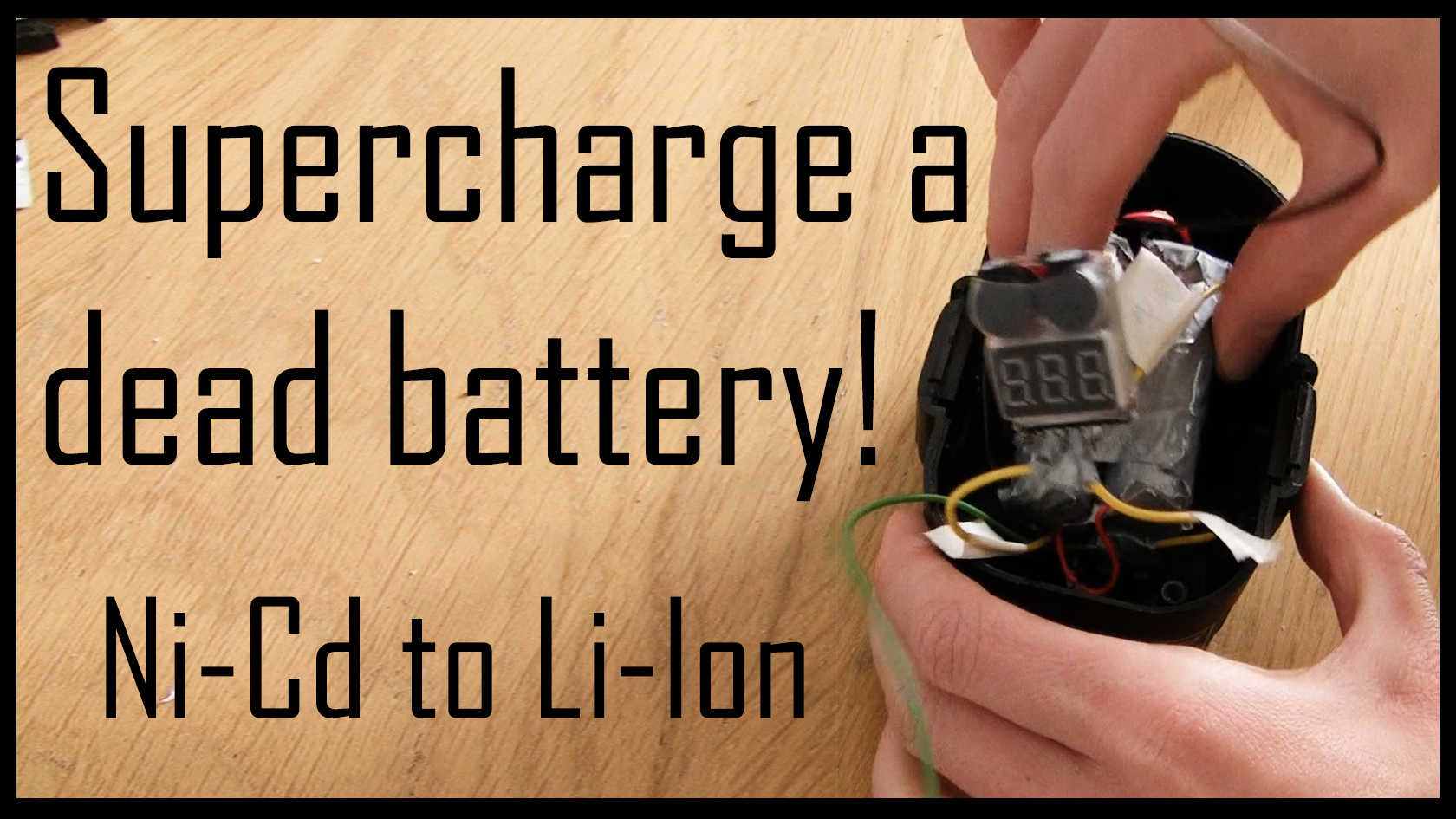 Replace Ni-Cd Batteries With Li-Ion Batteries