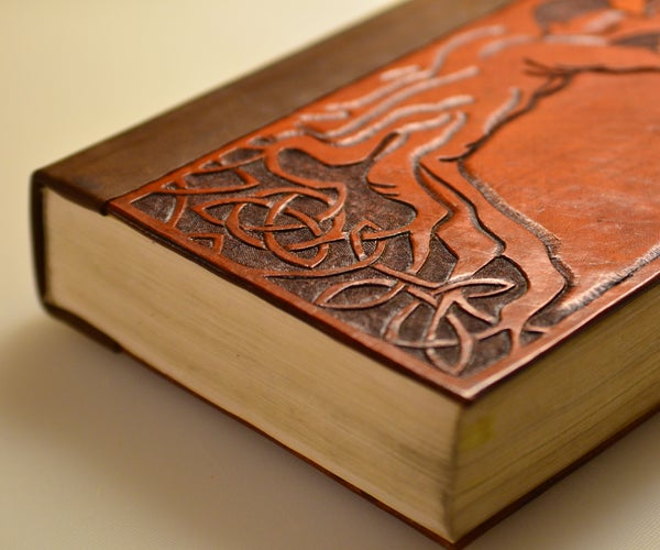 Bind a Book in Tooled Leather