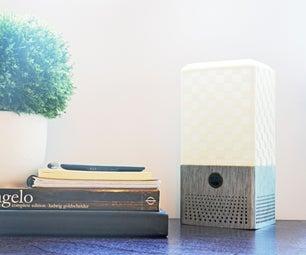 Smart Assistant Speaker + Lamp (3D Printed DIY Google Home / Amazon Alexa)