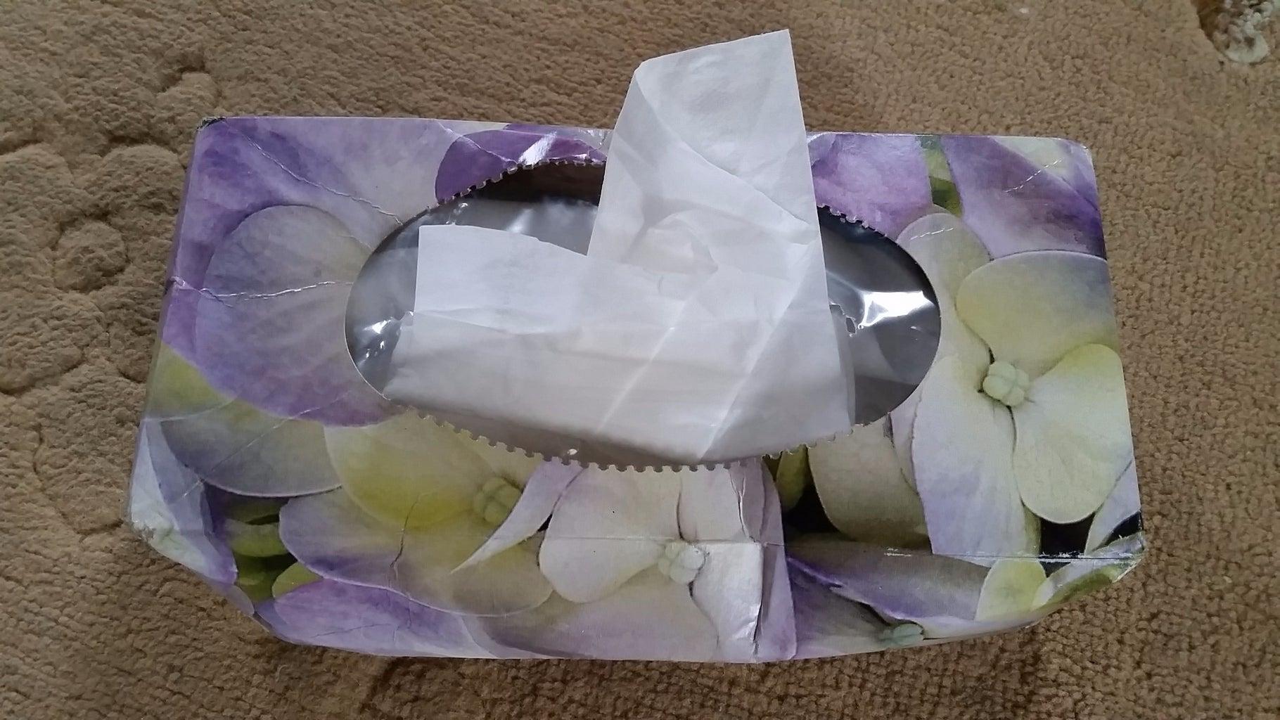 Removing Kleenex