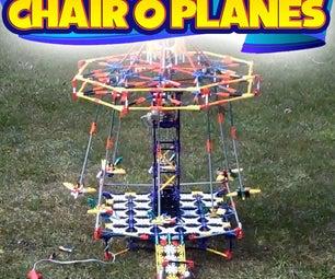 Simple K'nex Chair Swing Ride (Chair O Planes)