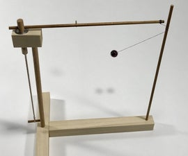 Mesmerizing Tether Escapement Toy