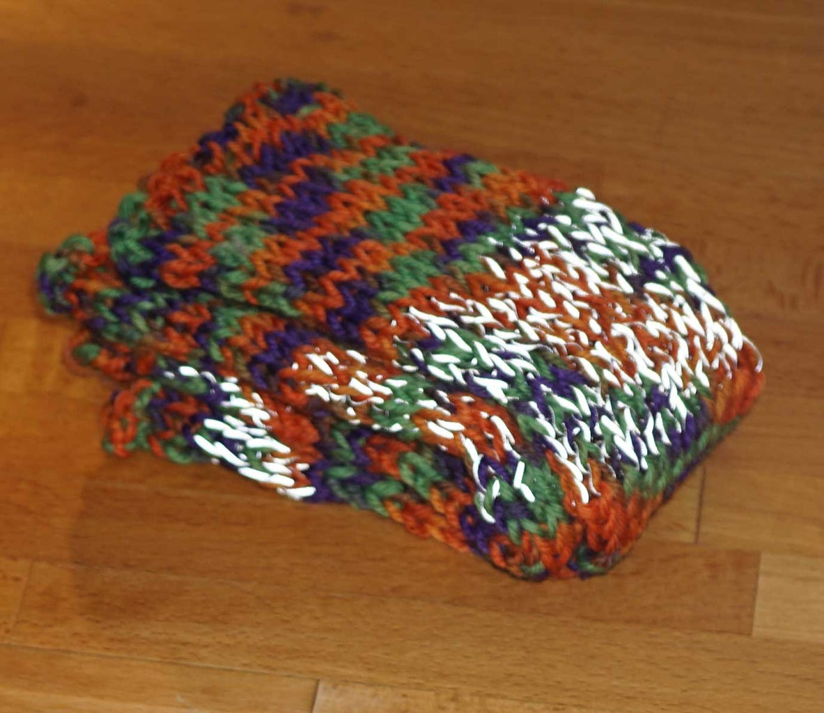 How to Knit Reflective Arm Warmers