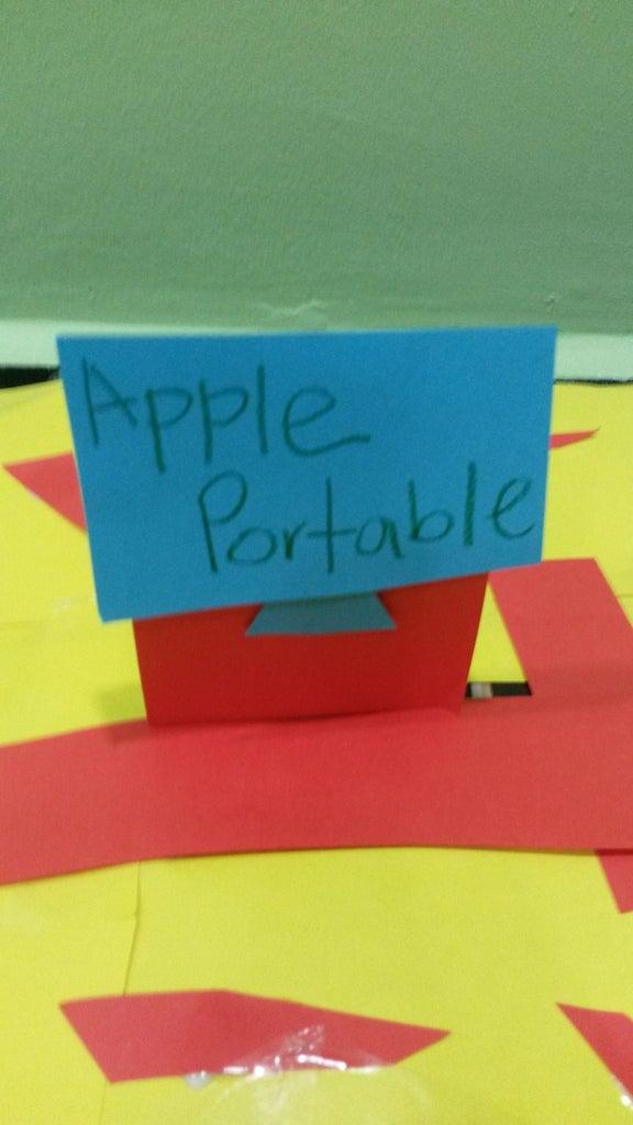 Apple Por-tab-le