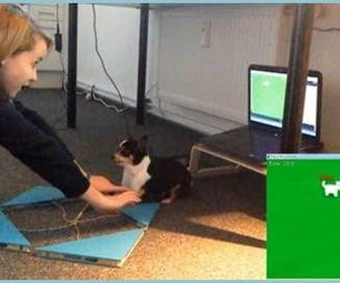 A Videogame Controlled by Your Dog