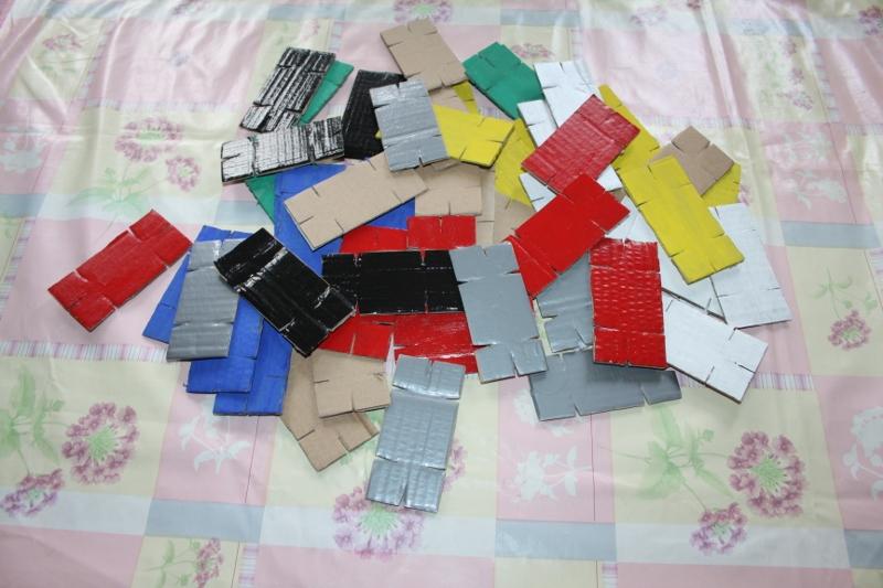 Cardboard Stackers