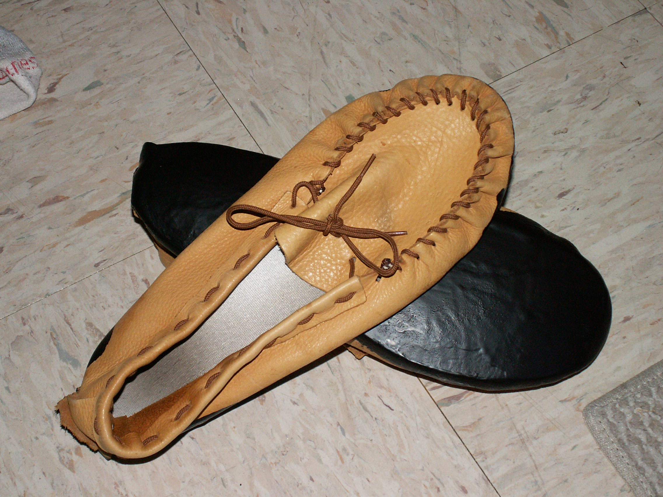 How to Rubberize Moccasin Soles