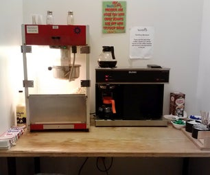 How to Make Popcorn at TechShop