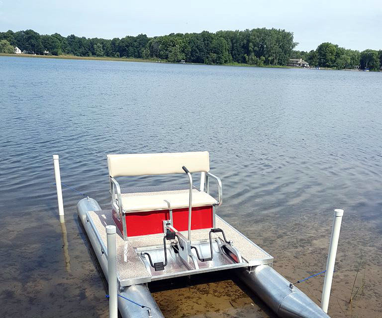 Cheap & Easy Docking Bay for a Small Watercraft