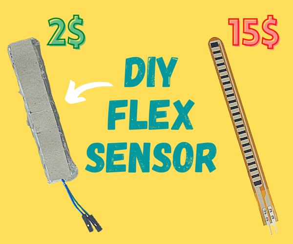 如何在家制作Flex传感器|DIY Flex传感器