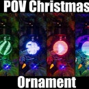 Persistence of Vision Christmas Ornament