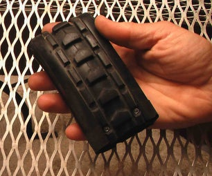 Knobby All Terrain Rubber Wallet With Optional Smack-lights
