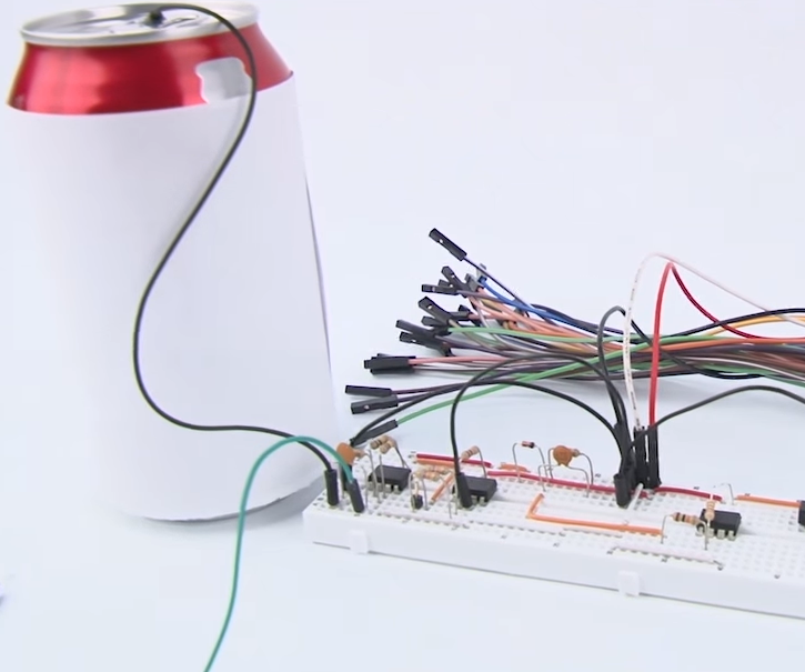 Soda Can Theremin